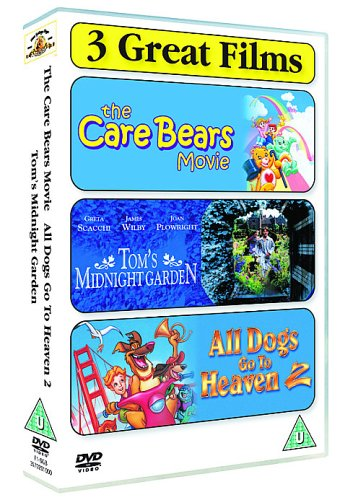 Tom's Midnight Garden / The Care Bears Movie / All Dogs Go to Heaven 2 - 3-DVD Box Set ( All Dogs Go to Heaven Two ) [ NON-USA FORMAT, PAL, Reg.2 Import - United Kingdom ]