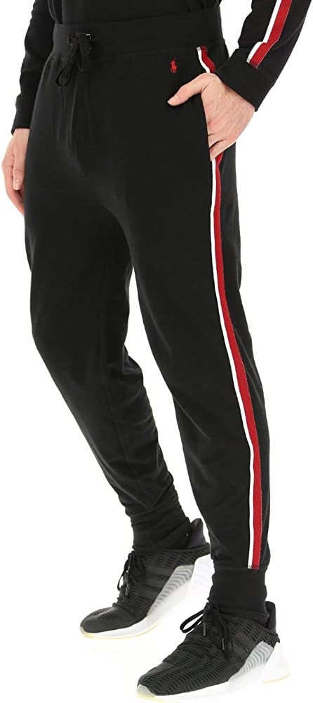 Polo Ralph Lauren - Pantalón de chándal con Banda Lateral roja y ...