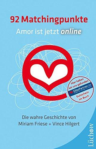 92 Matchingpunkte: Amor ist jetzt online