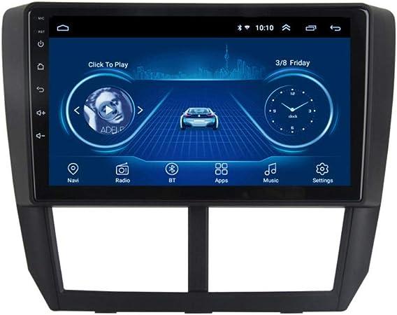 XMZWD Radio De Coche con Navegación GPS Android 8.1, TV Estéreo con Pantalla Táctil HD De 9