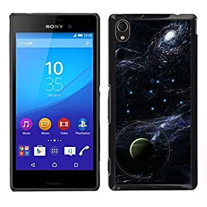 Stuss Case / Funda Carcasa protectora - The Metallic Heavenly Bodies - Sony Xperia M4 Aqua