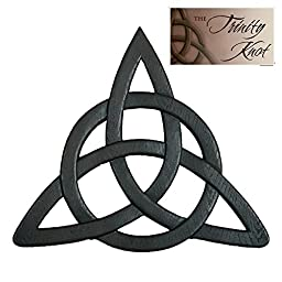 Trinity Knot Wall Hanging and Card - Abbey Press 50750