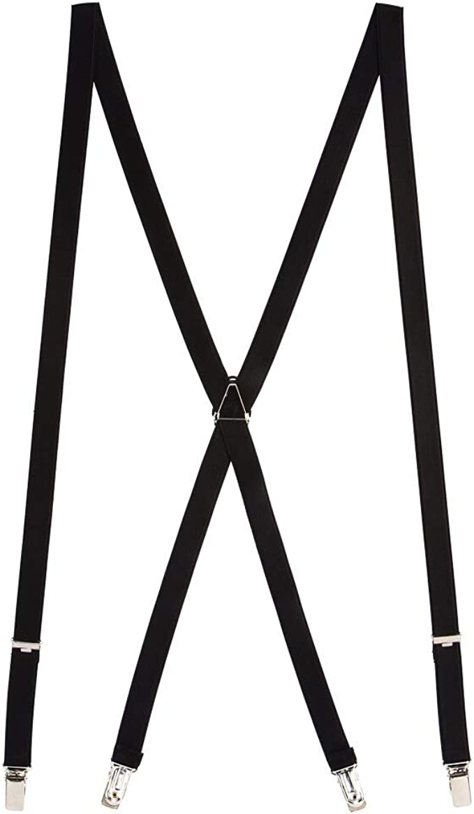 SuspenderStore Mens Thin Suspenders 3//4 Inch Wide Satin Finish 0-THIN-34-SATIN-N-PARENT