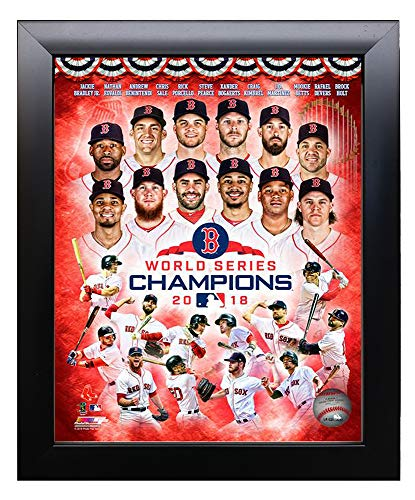 Framed The Boston Red Sox 2018 World Series Champions 8x10 Photo. Collage Picture