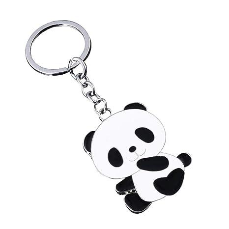 Daliuing Lindo Gigante Panda Llavero Colgante Accesorios de ...
