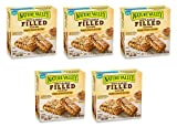 Nature Valley Soft Baked Filled Squares Honey Peanut Butter, 5 Bars (5 Boxes)