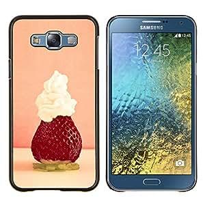 """For Samsung Galaxy E7 E700 , S-type Naturaleza Hermosa Forrest Verde 36"""" - Arte & diseño plástico duro Fundas Cover Cubre Hard Case Cover"""