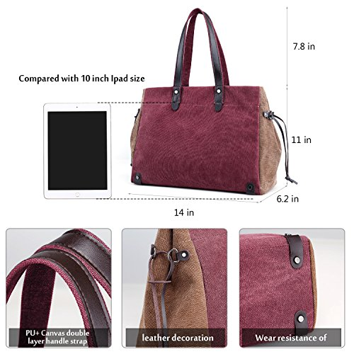 Tote Wine Red Shoulder Women's Bag Type12 Aqdwpxpa