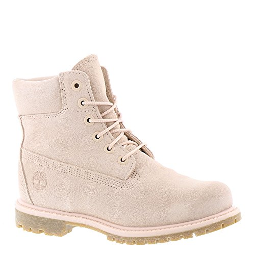 "Timberland Women's 6"" Premium Boot Camo Rose Suede 9 B US"
