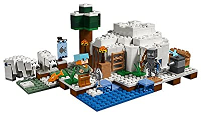 LEGO Minecraft the Polar Igloo 21142 Building Kit (278 Piece) from LEGO
