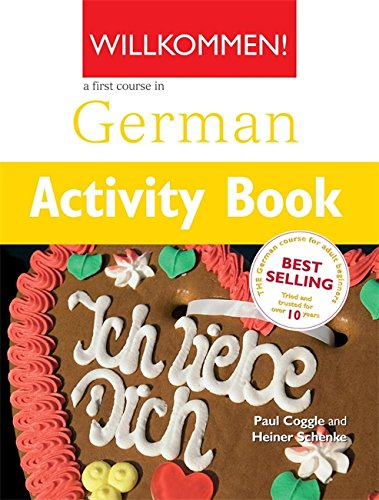 Willkommen Activity Book A German Course for Adult Beginners