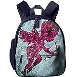 Funny Schoolbag Backpack Pink Cupid Toddler Kids Pre School Bag Cute 3D Print Children School Backpack
