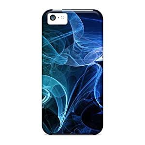 Sanp On Cases Covers Protector For Iphone 5c (smoke Filled)