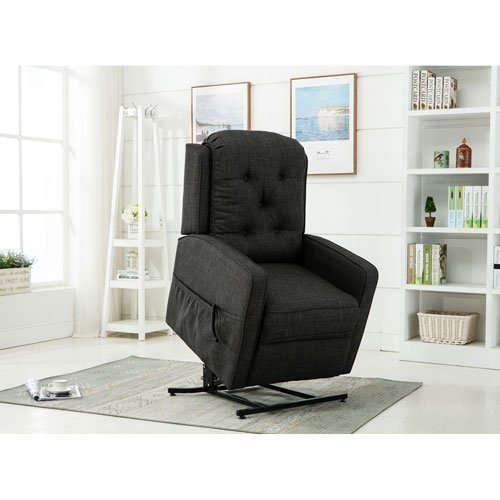 Comfort Pointe Paxton Charcoal Track Arm Lift Chair