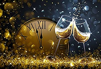 2021 NEW YEARS EVE Table Decoration Wine Glass Charms x 6 Champagne Party