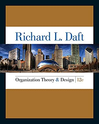 richard daft Available in: paperback emphasizing the theory behind leadership, this textbook  uses current research and real-world examples to discuss.