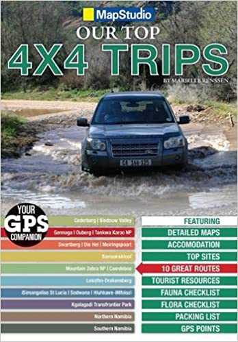 Book Southern Africa - Top 4x4 Trips GPS + CD ms