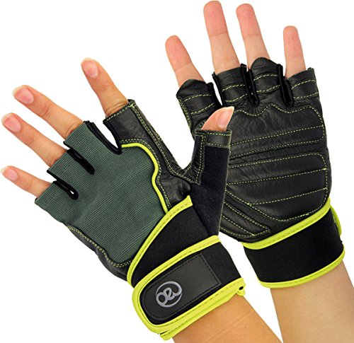 Fitness-mad Mens Weight Training Gloves Xl