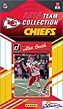 Kansas City Chiefs 2016 Donruss NFL Football Factory Sealed Limited Edition 14 Card Complete Team Set with Alex Smith, Jamaal Charles, Demarcus Robinson RC & Many More! Shipped in Bubble Mailer!
