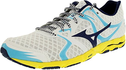 Shoes Racing Mizuno (Mizuno Women's Wave Hitogami Running Shoe,White,11 B US)