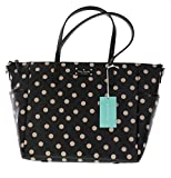 Kate Spade Wellesley Printed Adaira Baby Bag (Black/Decobeige)