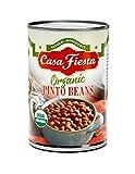 Casa Fiesta Organic Pinto Beans 15oz 12 pack