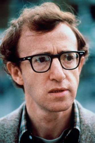 Woody Allen Annie Hall Classic In Glasses Portrait 24X36 ()