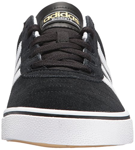 Adidas Originali Mens Busenitz Vulc Fashion Sneakers Nero / Bianco / Nero