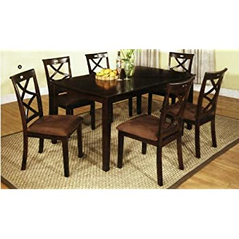 Amazon.com - 7 Pc. Dining Table Set - Table & Chair Sets