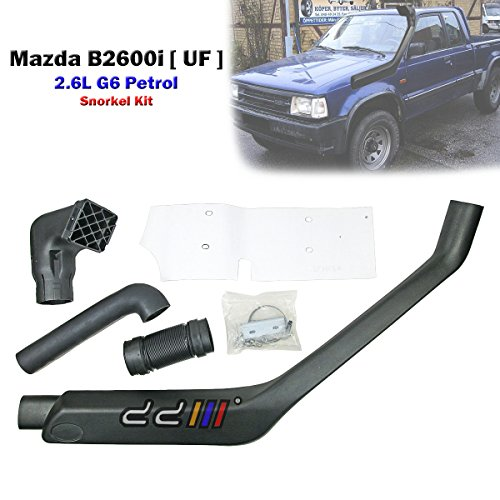 4x4 Off Road Snorkel Kit For Mazda Bravo B2600i B Series 2.6L G6 Petrol 1988-93