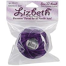 Handy Hands Elderberry Jam 25gm Lizbeth Cordonnet Cotton Thread Size -20