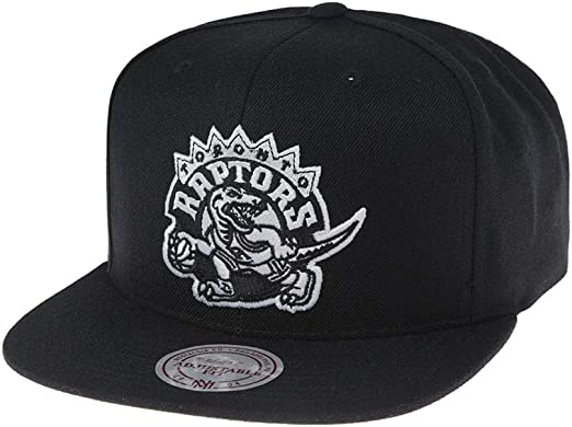 new appearance super cute exclusive deals Amazon.com: Mitchell & Ness Toronto Raptors 18121 Wool Solid Black ...