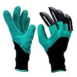 Meanch Garden Genie Gloves Mens Women Gloves with Fingertips