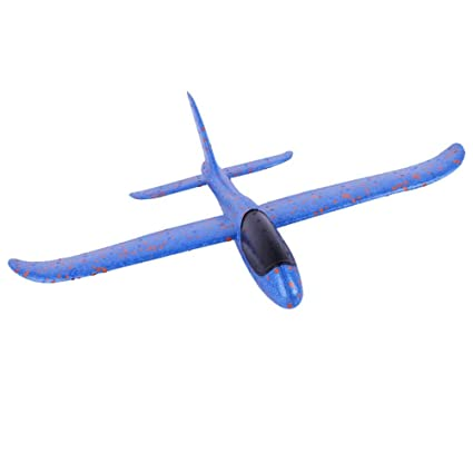 Amazon.com: 18.9 in DIY niños juguetes de mano volar Glider ...