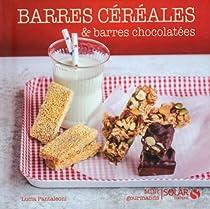 Barres aux céréales et barres chocolatées - Mini gourmands par Pantaleoni