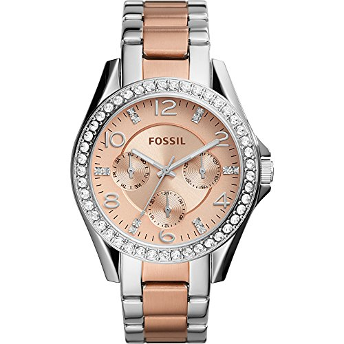 Fossil-Riley-Multifunction-Stainless-Steel-Watch