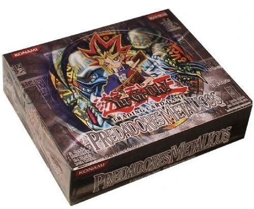 Metal Raiders Booster Pack - Yugioh Portuguese Metal Raiders 1st Edition Booster Box Factory Sealed! Original Box Collector's Item!!