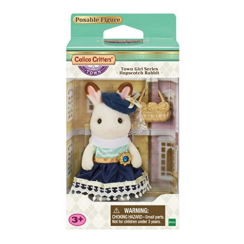 Calico Critters Town Girl Series - Hopscotch Rabbit -