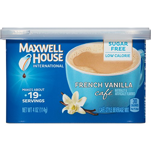 (Maxwell House International Cafe Instant French Vanilla Coffee (4 oz Canisters, Pack of 4))