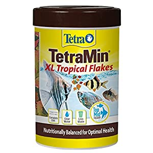 TetraMin Large Tropical Flakes For Top/Mid Feeders, 5.65-Ounce 101