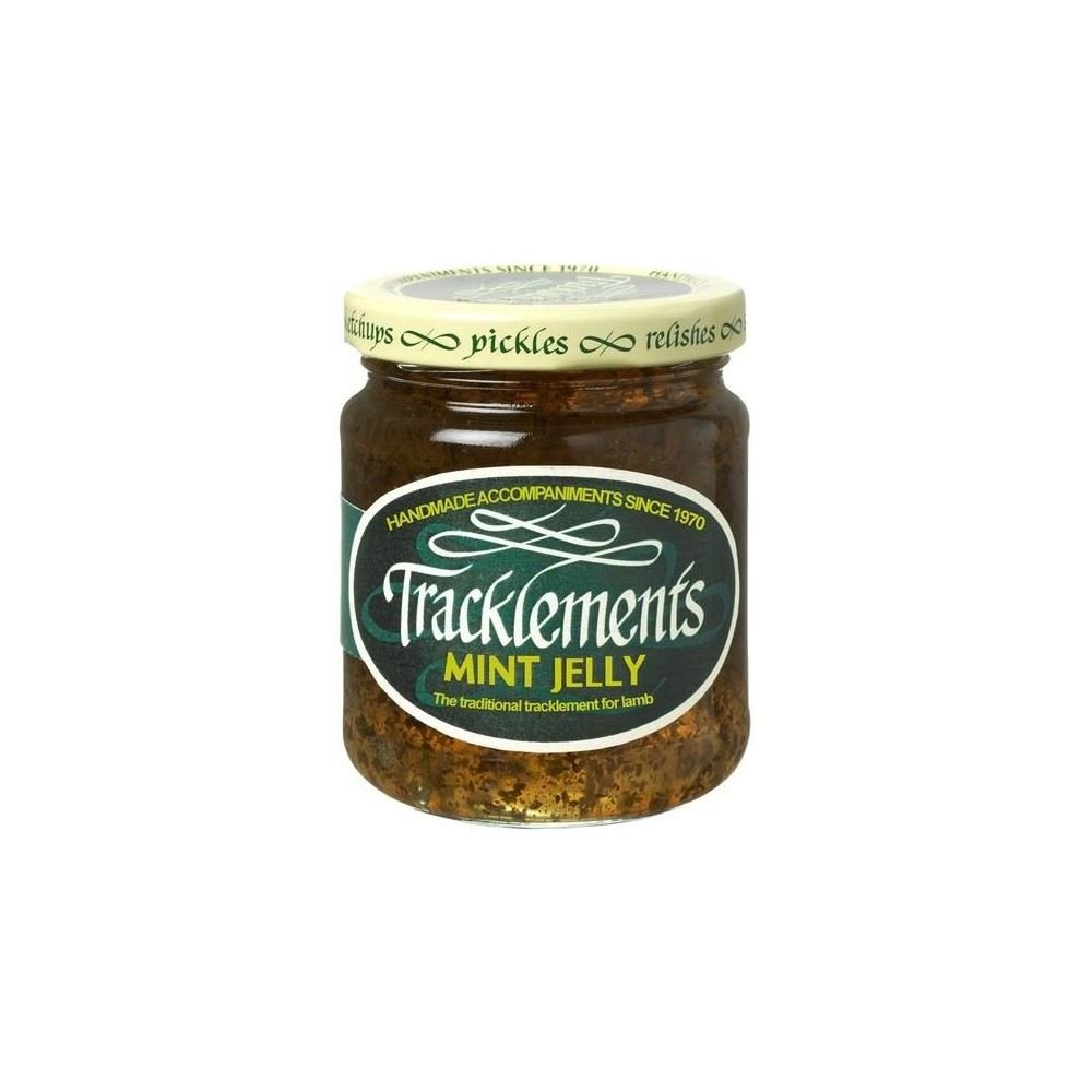 Tracklements Organic Mint Jelly (250g) - Pack of 6