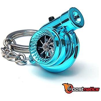 Amazon.com: Electronic Spinning Turbo Turbine Keychain