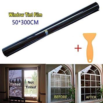 MeterMall Rouleau de Film teint/é 20/% VLT Noir 50 cm x 3 m