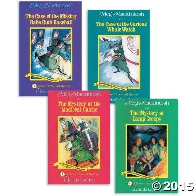 Secret Passage Press Meg Mackintosh Mysteries Books 1-4: Toys & Games