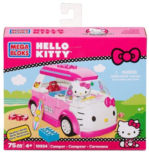 [Mega Bloks Hello Kitty Camper] (Monster High Kitty)