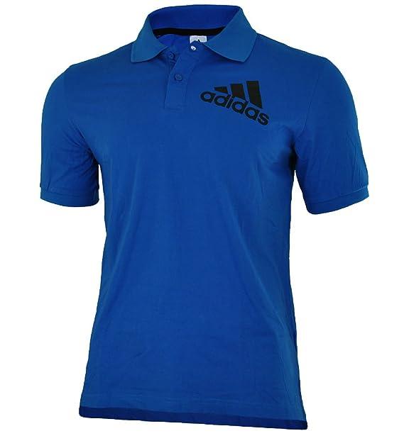 Adidas Spelto Polo Hombres Camisa Polo Azul: Amazon.es: Ropa y accesorios