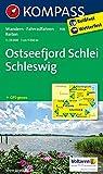 Ostseefjord Schlei - Schleswig: Wanderkarte mit Radrouten und Reitwegen. GPS-genau. 1:35000 (KOMPASS-Wanderkarten, Band 708)