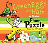 Green Eggs and Ham by Dr. Seuss Floor Puzzle: Includes 48 giant puzzle pieces (Dr. Seuss Giant Puzzle Boxes)