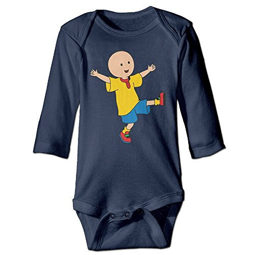 Caillou Baby Long Sleeve Bodysuits