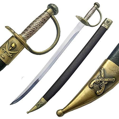 Ace Martial Arts Supply Pirate Sword (Skull -